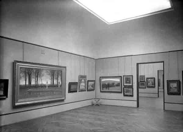Galleria Ricci Oddi Sala 1 foto del 1931