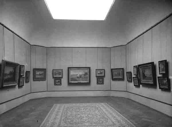 Galleria Ricci Oddi Sala 7 foto del 1931