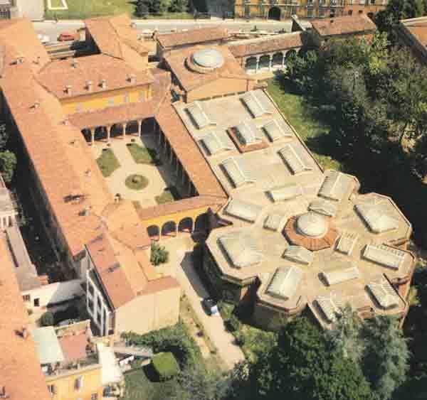 Galleria Ricci Oddi foto aerea